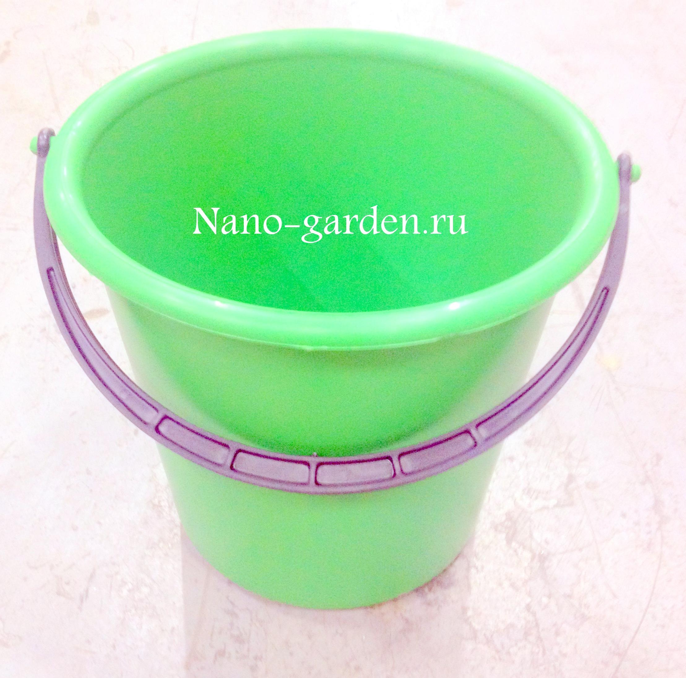 Ведра для сада пластиковые, ведро садовое пластиковое, ведро по ГОСТ, ведра дпластиковые