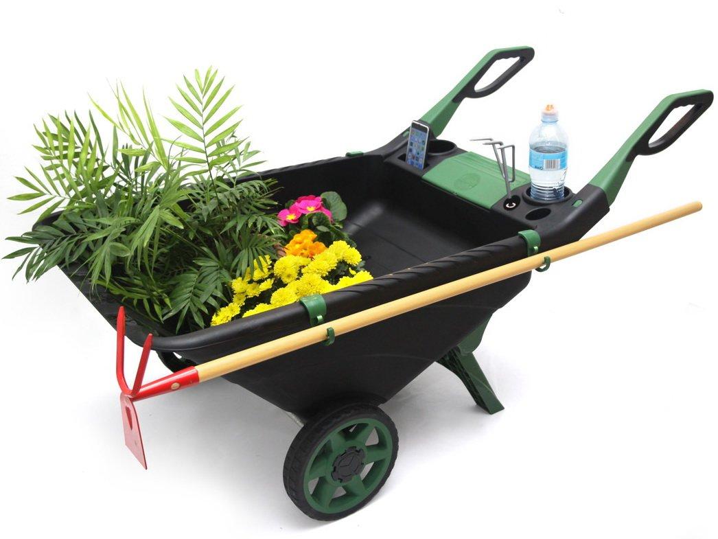 Универсальная тачка-тележка Garden Cart 80л